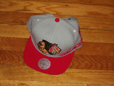MITCHELL & NESS CHICAGO BLACKHAWKS SNAPBACK BASEBALL CAP EXCELLENT CONDITION