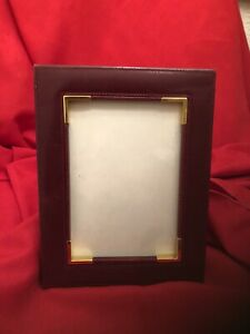 Mark Cross Leather Picture Frame