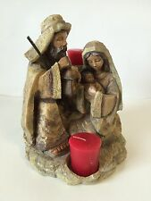 Roman Inc Nativity Candleholder Figurine