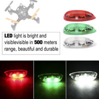 3pcs/set Drone Flash LED Wireless Light Kits for RC Fix Wing Airplane Helicopter