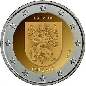 2 Euro LETTONIE 2017- LATGALE