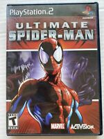 Ultimate Spider-Man PS2 (Sony PlayStation 2, 2005) Complete CIB Black Label