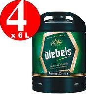 4 x Diebels Alt Perfect Draft Fass 6 Liter  4,9 % vol. MEHRWEG 4,6€/L
