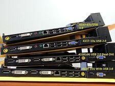 Lenovo 4337 Thinkpad Mini Dock Series 3 w/ usb 3.0  433715U T410 T430 T520 T530