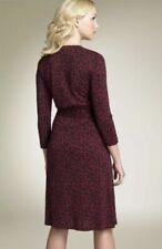 Womens DVF Diane Von Furstenberg Diana Silk Wrap Dress $392 2