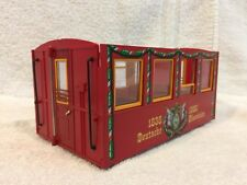 Make an LGB 3150 Christmas Car Swap Out Cab COMPLETE w/ doors and hand rails