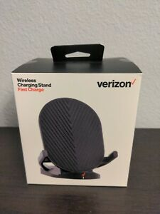 Verizon Wireless Charging Stand with Fast Charge - Black compat w/ Android/Apple