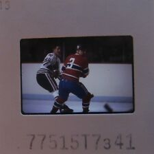 J C TREMBLAY Montreal Canadiens CLIFF KOROLL CHICAGO BLACK HAWKS SLIDE 7
