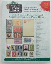 US POSSESSIONS & WORLDWIDE STAMPS 2008 NUTMEG AUCTION CATALOG