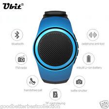 Bluetooth Music Watch EDR Sport Speaker TF Card FM Audio Radio Speakers