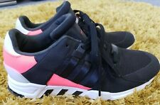 Worn Once Mens Black Adidas EQT Support RF Trainers size 8.5 8 half EU 42 2/3