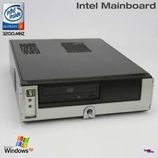 Intel D945GCNL PC Computer Pentium 4 3200MHZ RS232 Parallel Windows XP 512MB DDR