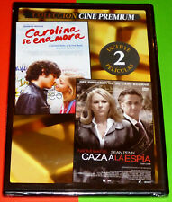 CAROLINA SE ENAMORA + CAZA A LA ESPIA -DVD R2- CAJA FINA/SLIM - Precintada