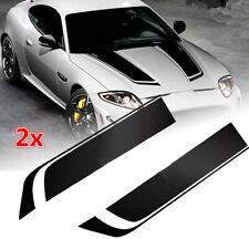 Car Racing Sports stripes Hood Decals Vinyl Bonnet Stickers 85cm Accessories