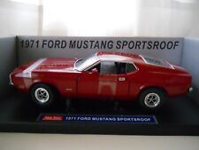 SUN STAR - 1971 FORD MUSTANG SPORTSROOF (FASTBACK) - 1/18 DIECAST