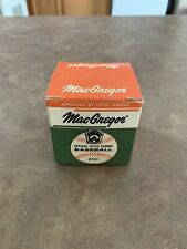 Vintage 1960's MacGregor Official Little League Baseball B76C Original Box