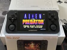 Anbernic Black RG351P Retro Game Console, 64GB SD Card, Fully Loaded, Plus Case