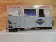 WALTHERS HO SCALE BUILT EQUITY #2 3-BAY GRAIN RAILROAD HOPPER CAR W/BOX 932-5712