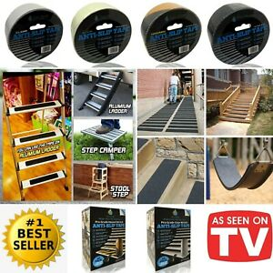Anti Non Slip Tape High Grip Strong Adhesive Backed Safety Indoor Outdoor Use