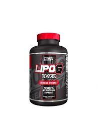 LIPO 6 BLACK 120caps NUTREX QUEMAGRASAS