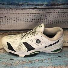 Men's Babolat Tennis Shoes Size 12.5 Wimbledon Michelin Man Rare Vintage Sport