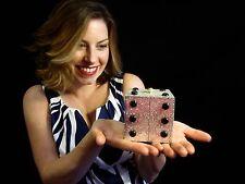 Kathrine Baumann LUCKY DICE VEGAS swarovski crystal clutch JUDITH LEIBER MIRROR