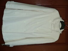 BNCI by Blanc Noir Ladies Jacket size XL Winter White Solid Length 28,5 in Lined