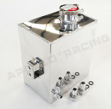 Aluminum Coolant Radiator Overflow Recovery Tank Bottle For Nissan R32 R33 R34