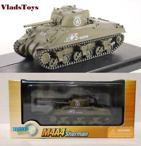 Dragon Models 1:72 M4A4 Sherman Tank Free French Army, 1944 60284