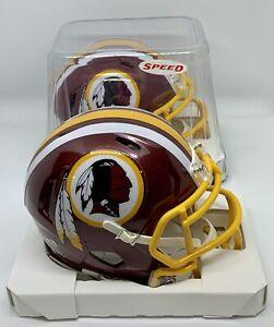 WASHINGTON REDSKINS Football Team Riddell Speed Mini Helmet