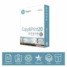 Hp Printer Paper Copy Amp Print 20lb 85x11 1 Ream 500 Sheets Free Shipping