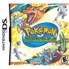 Pokemon Ranger For Nintendo DS DSi 3DS 2DS 2E