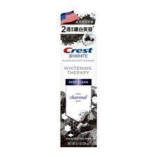 [CREST] 3D WHITE Deep Clean CHARCOAL Toothpaste Removes Stains 116g USA NEW