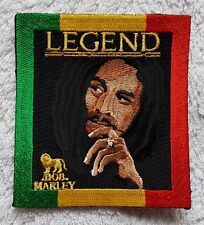 BOB MARLEY PATCH Cloth Badge/Emblem/Insignia Legend Jamaica Rasta One Love Jah