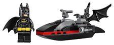LEGO - The Batman Movie - Batman w/ Batski - Minifig / Mini Figure - NO STICKERS