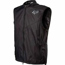 Fox Head Dawn Patrol Cycling Packable Lightweight Vest Black Size Small New