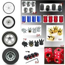 For Car Wheel Tyre Tire Stem Air Valve Caps Dust Covers Accessories Universal