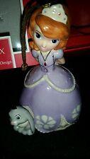 "Lenox Disney ""Sofia the First"" Fine China Handpainted Ornament Nib $60"