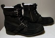 NEW UGG Boots OLMSTED Black Zipper and Laces Men's Size 11.5