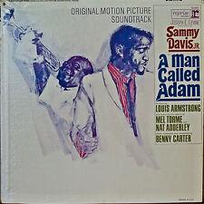A MAN CALLED ADAM SOUNDTRACK-NM1966LP SAMMY DAVIS, JR./ARMSTRONG/ADDERLY/TORME