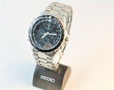 Seiko Sports 150 Pilot Flightmaster 7T34-6A00 Chrono Alarm 40mm