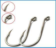 50 X 10/0 Chemically Sharpened Octopus / Beak Hooks Tackle Fishing Bait Jig