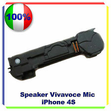 CONNETTORE BUZZER MICROFONO SPEAKER IPHONE 4 4S FLEX ALTOPARLANTE
