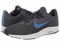 Men's Nike Downshifter 9 Running Shoes Size 9 D-Medium Gridiron Blue Black White
