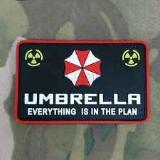 Resident Evil Umbrella Corporation EVERYTHING IS IN THE PLAN 3D PVC Patch