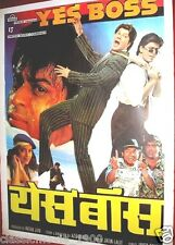 YES BOSS POSTER #1 BOLLYWOOD SHAHRUKH KHAN