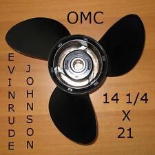 ELICA FUORIBORDO ORIGINALE 14 1/4x21 OMC EVINRUDE JOHNSON ALLUMINIO