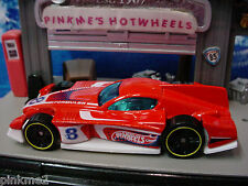 2014 Hot Wheels FORMUL8R ☆Red/White; pr5; 8☆New LOOSE☆HW Race Team☆col 153