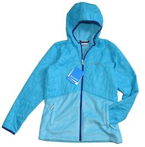 Columbia Fast Beauty Youth Girls Jacket Hybrid Full Zip size L BNWT