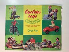 Vintage Catalogue's - Original 1960's Cyclops Toys Catalogue Booklet